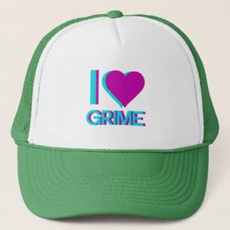 i love grime music trucker hat