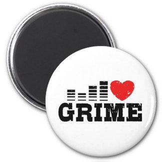 I Love Grime Refrigerator Magnets