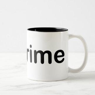 I Love Grime Two-Tone Coffee Mug