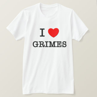 I Love Grimes T-Shirt