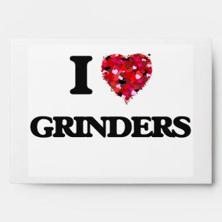 I Love Grinders Envelope