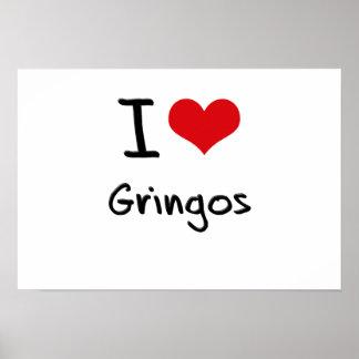 I Love Gringos Poster