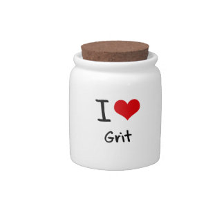 I Love Grit Candy Dishes
