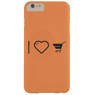 I Love Grocery Carts Barely There iPhone 6 Plus Case