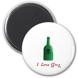 I love Grog! Magnet
