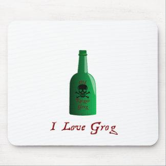 I love Grog! Mouse Pad