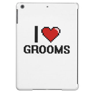 I love Grooms Case For iPad Air