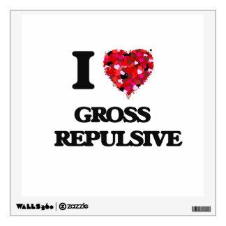 I Love Gross   Repulsive Room Stickers