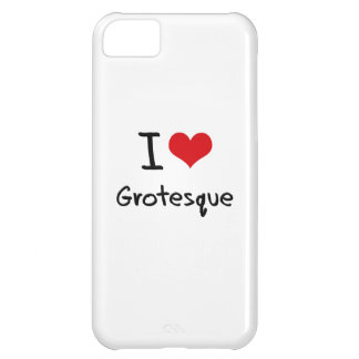 I Love Grotesque iPhone 5C Covers