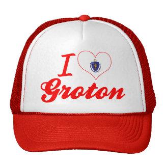 I Love Groton, Massachusetts Trucker Hat