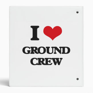 I love Ground Crew 3 Ring Binders