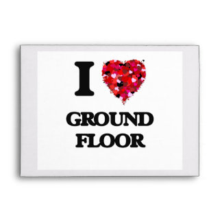I Love Ground Floor Envelope