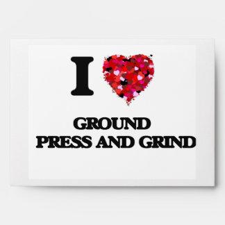 I Love Ground   Press And Grind Envelopes