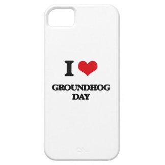 I love Groundhog Day iPhone 5 Cover