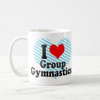 I love Group Gymnastics Classic White Coffee Mug