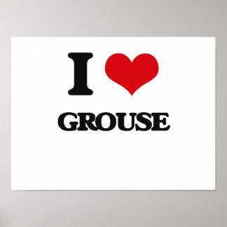 I love Grouse Print