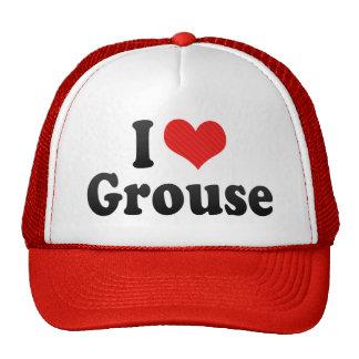 I Love Grouse Trucker Hat