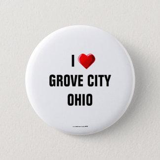 I Love Grove City, Ohio Button