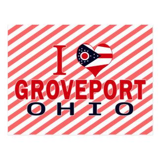 I love Groveport, Ohio Postcard