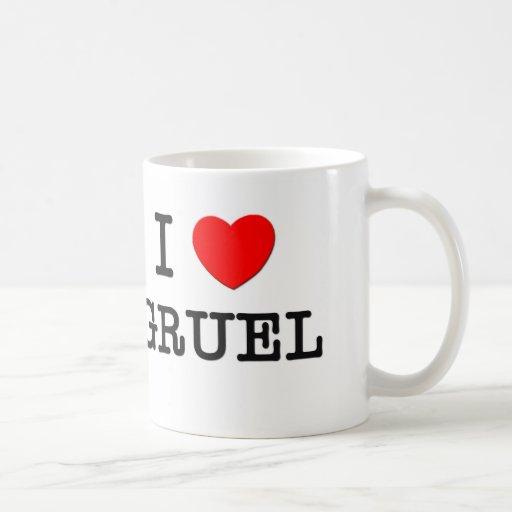I Love Gruel Classic White Coffee Mug