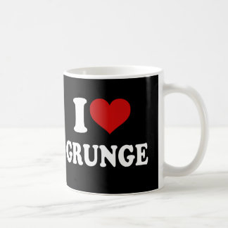 I Love Grunge Coffee Mug