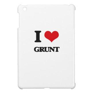 I love Grunt iPad Mini Cover