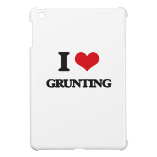 I love Grunting iPad Mini Covers