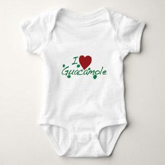 i love guacamole baby bodysuit