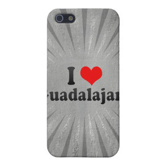I Love Guadalajara, Mexico Case For iPhone 5