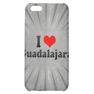 I Love Guadalajara, Mexico iPhone 5C Cover