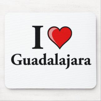 I Love Guadalajara Mouse Pad
