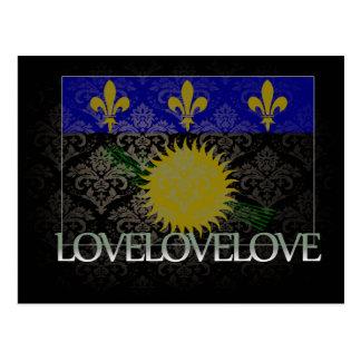 I love Guadeloupe Cool Postcard