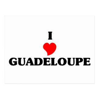 I Love Guadeloupe Postcard