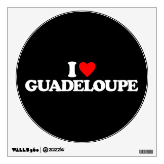 I LOVE GUADELOUPE ROOM GRAPHIC