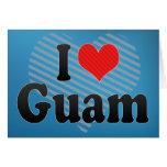 I Love Guam Card