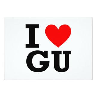 I Love Guam Design Card