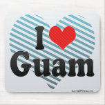 I Love Guam Mousepad
