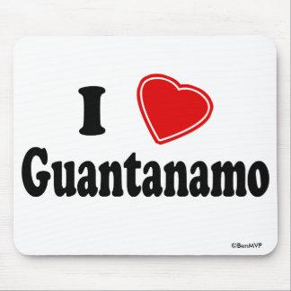 I Love Guantanamo Mouse Pad
