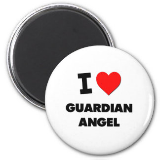 I Love Guardian Angel Magnets
