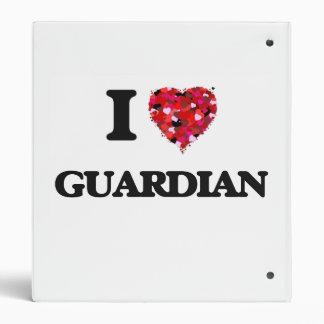 I Love Guardian Binder