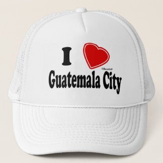 I Love Guatemala City Trucker Hat