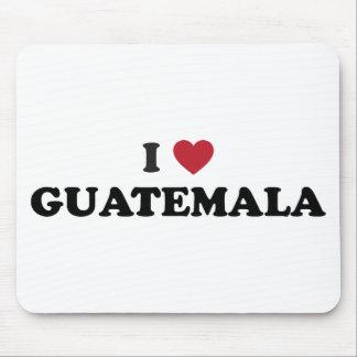 I Love Guatemala Mouse Pad