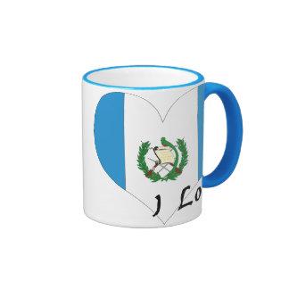I love Guatemala Coffee Mug