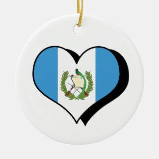 I Love Guatemala Ornament