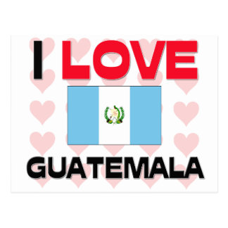 I Love Guatemala Postcard