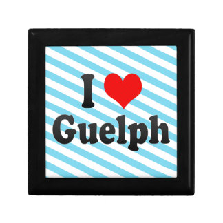I Love Guelph Canada Jewelry Box