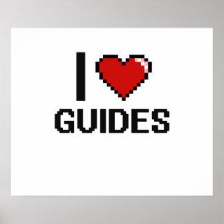I love Guides Poster