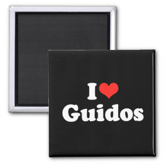 I Love Guidos Magnet
