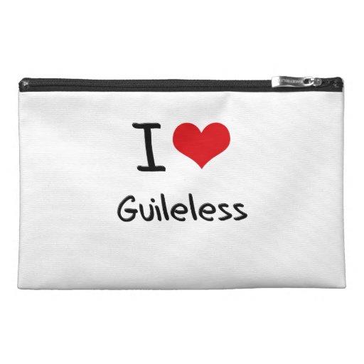 I Love Guileless Travel Accessory Bag