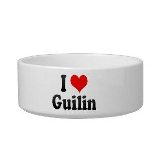 I Love Guilin, China Cat Bowls